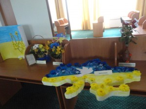 Виставка квіткових композицій «Ми діти твої, Україно!»