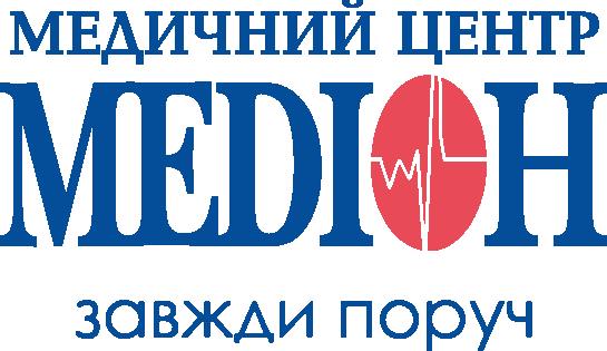 лого Медион синий вектор